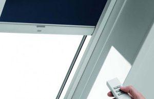 Автоматические рулонные шторы UNI с электроприводом