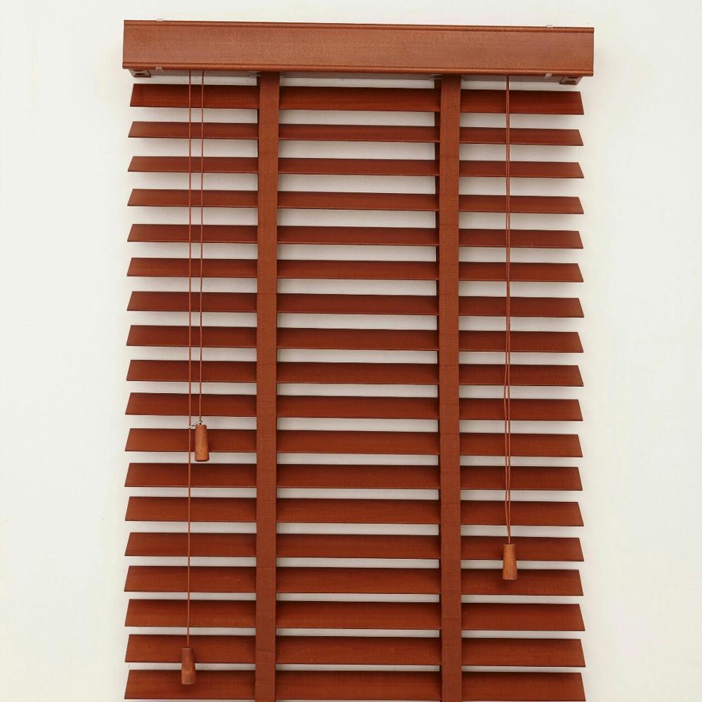 Горизонтальные деревянные жалюзи 50 мм