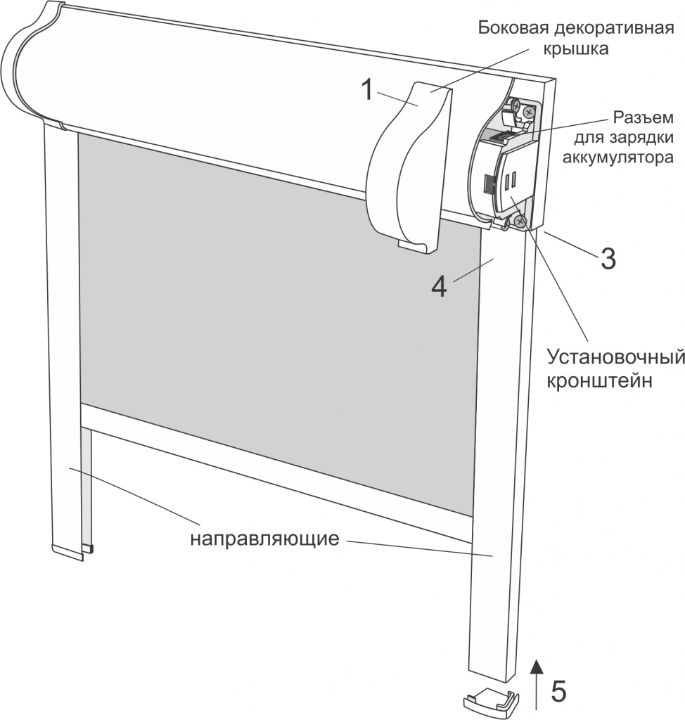 схема контрукции уни с приводом